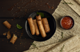 FotoHouse Lounge - Egg Rolls